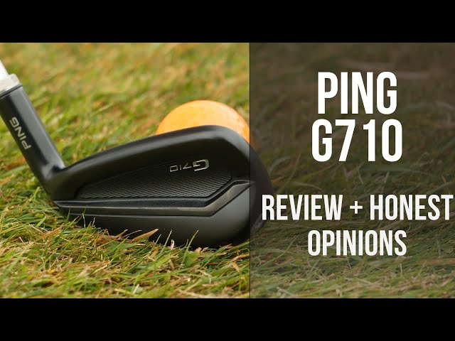 Ping G710 Review  - Stealthed out 2020 Irons - Honest opinions!