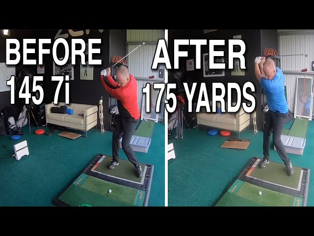 Mark GAINING 30 YARDS Using PRIMITIVE REFLEXES in the Golf Swing
