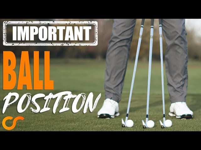 GOLF - BALL POSITION, MOST IMPORTANT LESSON