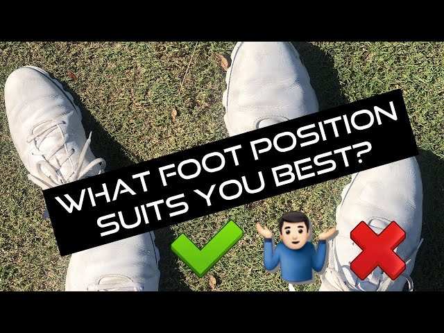 How to position YOUR feet (Golf swing set up)