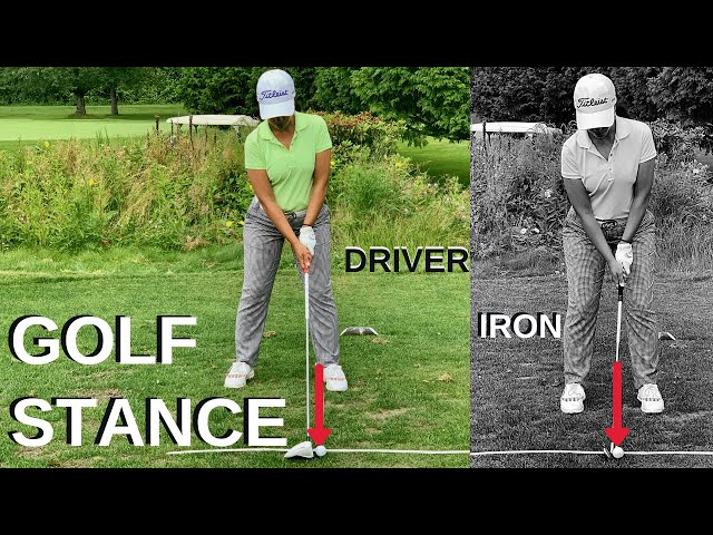 Golf Stance and Ball Position (How Close To Stand)