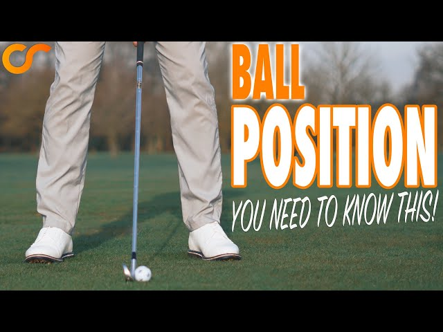 DID YOU KNOW THIS WAS HOW TO CHECK YOUR BALL POSITION?