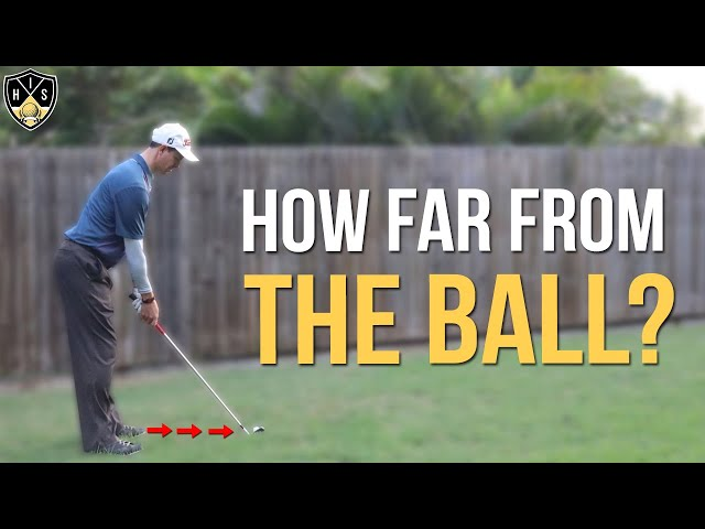 Stance Distance From Golf Ball ➜ Play Consistent Golf