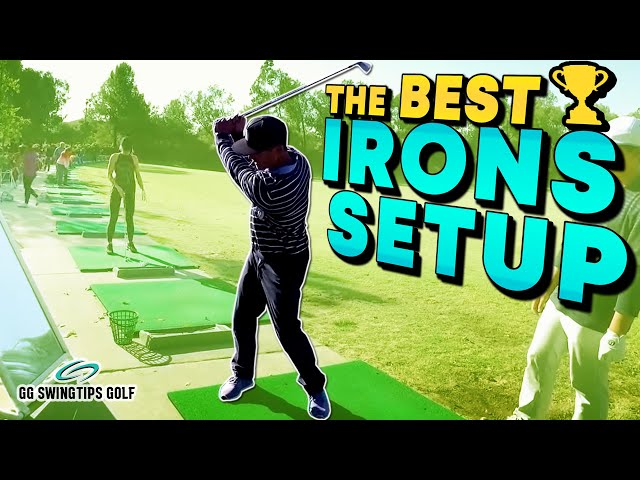 BEST Stance for Irons | Gankas Golf Swing