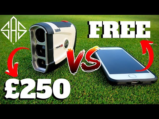 EXPENSIVE £250 RANGEFINDER VS FREE GPS IPHONE APP - (Surprising Results)