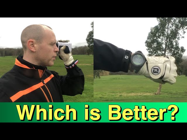 Should you buy a GOLF GPS or LASER RANGEFINDER