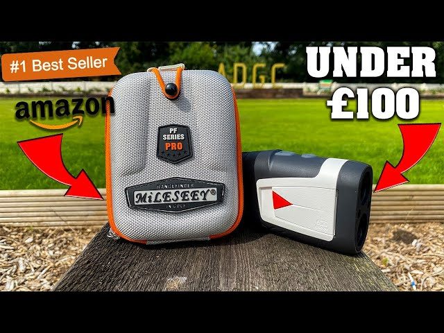 I Bought AMAZONS BEST SELLING Laser Range Finder! Full On Course Review! (Under £100)