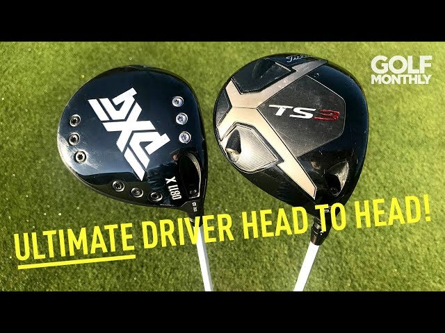 Ultimate Driver Head To Head! PXG 0811X Gen2 v Titleist TS3 | Golf Monthly