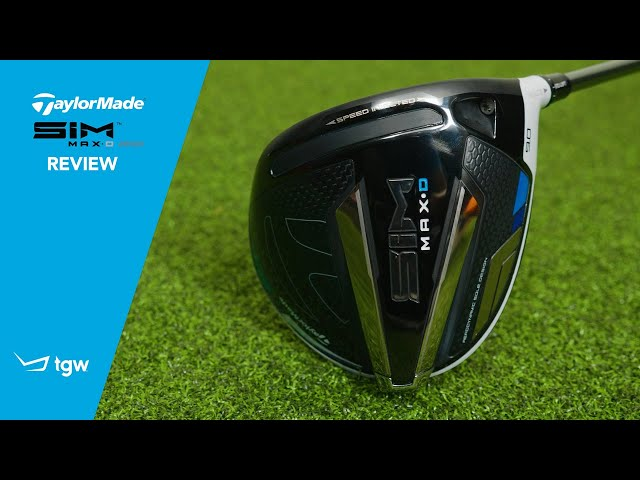 TaylorMade SIM MAX Draw Driver Review