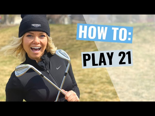 (GOLF) 21 Chipping Game