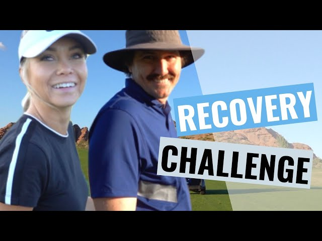 (GOLF) Recovery Shot Challenge!!!