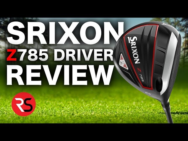 The most UNDERRATED driver brand..... SRIXON Z785 DRIVER REVIEW