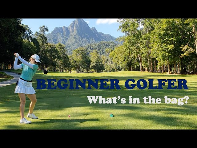 Beginner golfer- What is in my bag? COBRA FMAX