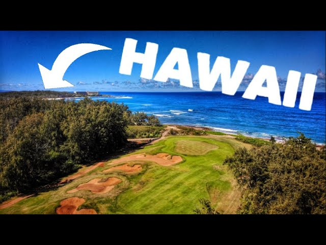 Can I Make An Eagle In Hawaii? | Golfing At Turtle Bay On The Island Of Oahu