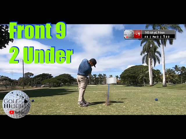 Navy Marine Golf Vlog Hawaii Part 1 | Hawaii Golf | Golf HiLights | Golf Hawaii | Golf Highlights