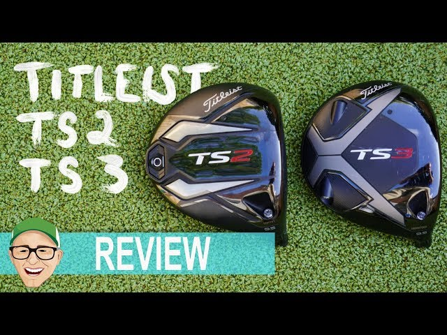 TITLEIST TS2 TS3 DRIVERS