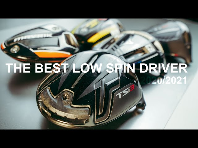 THE BEST GOLF DRIVERS 2020/2021 LOW SPIN DRIVERS