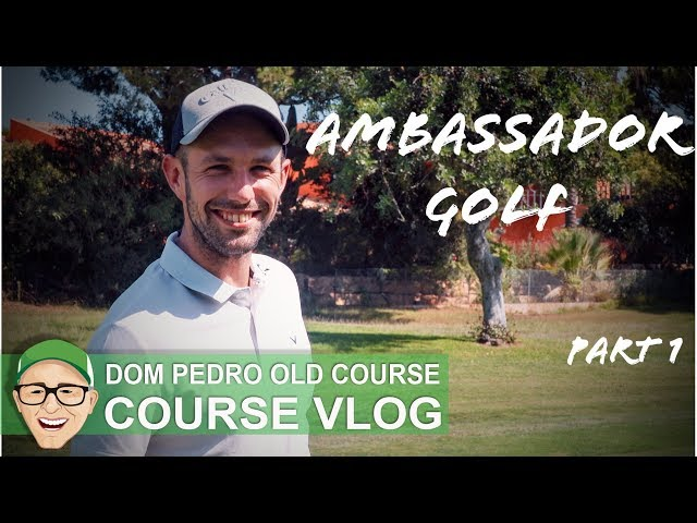 DOM PEDRO OLD COURSE - PORTUGAL GOLF TRIP