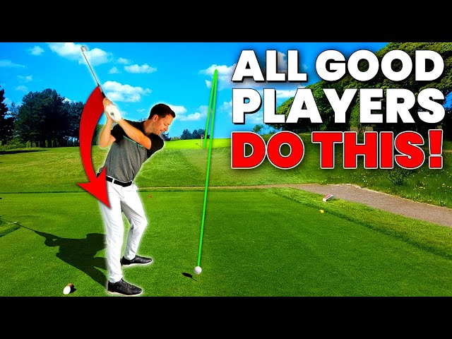 EFFORTLESS GOLF SWING - Start the downswing like a tour pro with this AMAZING DRILL!