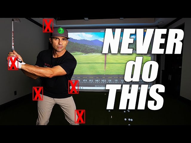 5 Things to Never Do in Your Golf Swing