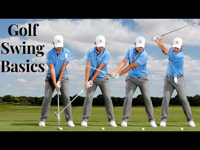 Golf Swing Basics - Easy Steps For Beginners (2019)