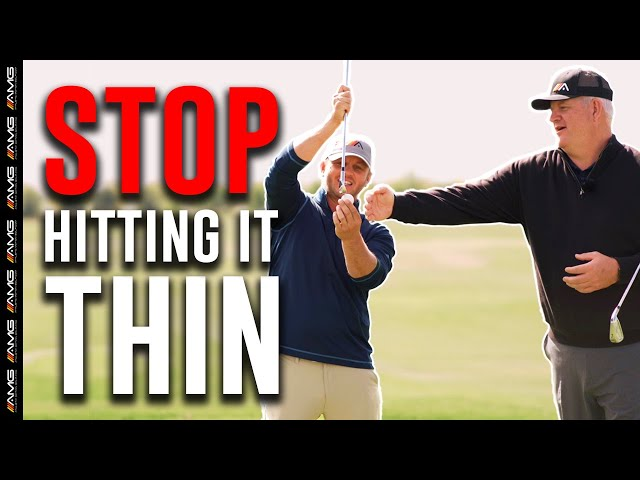 [SIMPLE FIX ] Stop Hitting Thin Shots During Your Golf Game