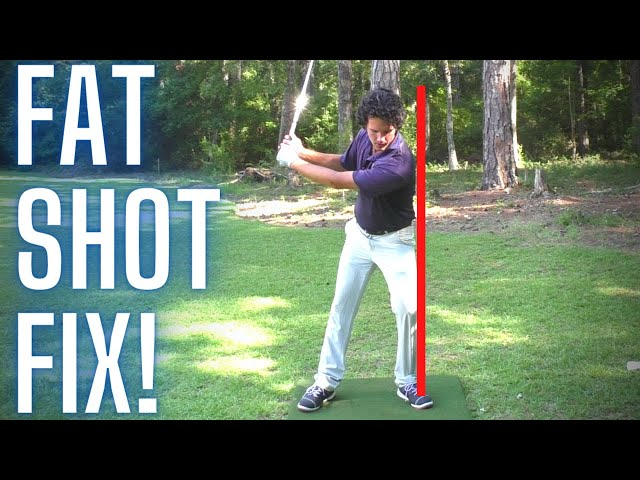 How to STOP Hitting Behind the Golf Ball [EASY FAT SHOT FIX!]
