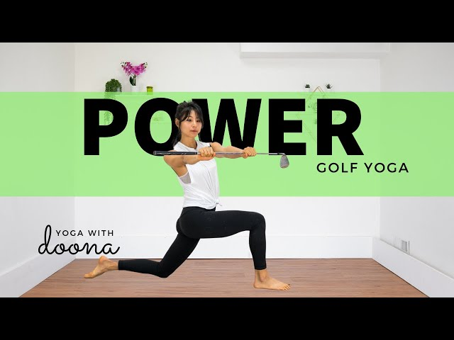 Golf Yoga for Strength and Stability | Yoga for Golfers |  Yoga with Doona 4K