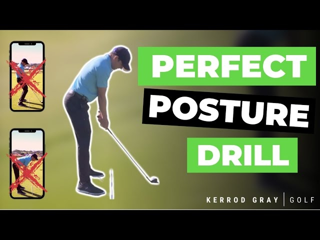 PERFECT GOLF POSTURE EVERY TIME