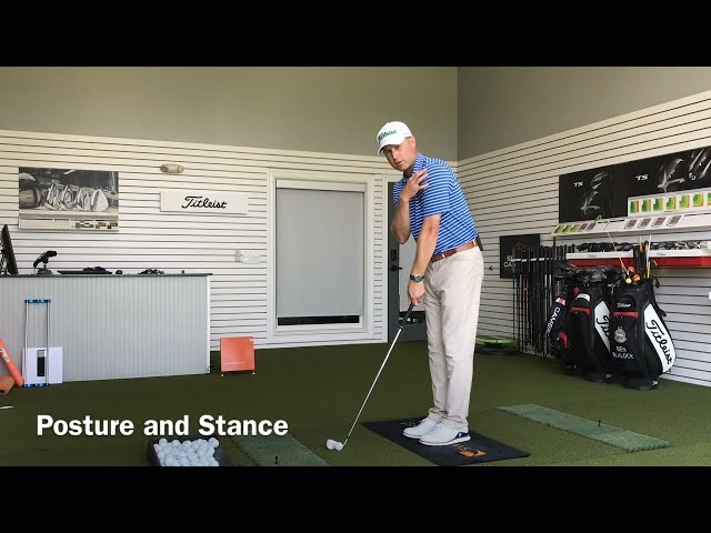 Titleist Tips: Posture and Stance in Golf