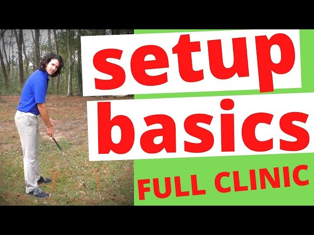 FULL GOLF SETUP LESSON [Grip + Posture + Alignment, and MORE]