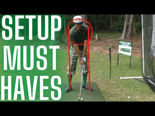 3 of the MOST IMPORTANT (and Overlooked) Golf Swing Setup Keys