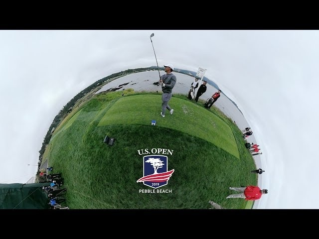 A 360 Degree Look at Moving Day at the 2019 U.S. Open