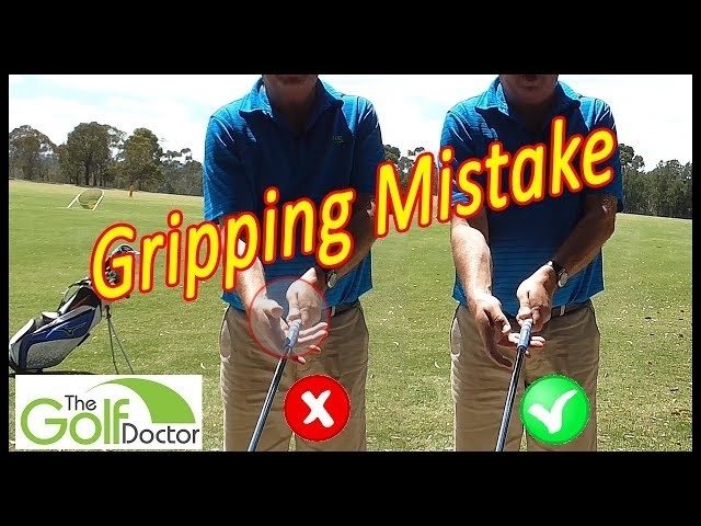 The Biggest Gripping Mistake I See In Both Right And Left Handed Golfers