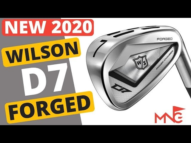 Impressive New Iron From Wilson! D7 Forged Iron Review