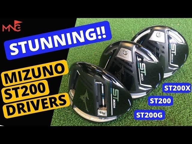 STUNNING!! Mizuno ST200 ST200G ST200X Drivers