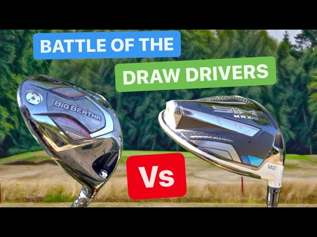 WHICH DRIVER HITS THE STRAIGHTEST GOLF SHOTS | B21 v SIM MAX D