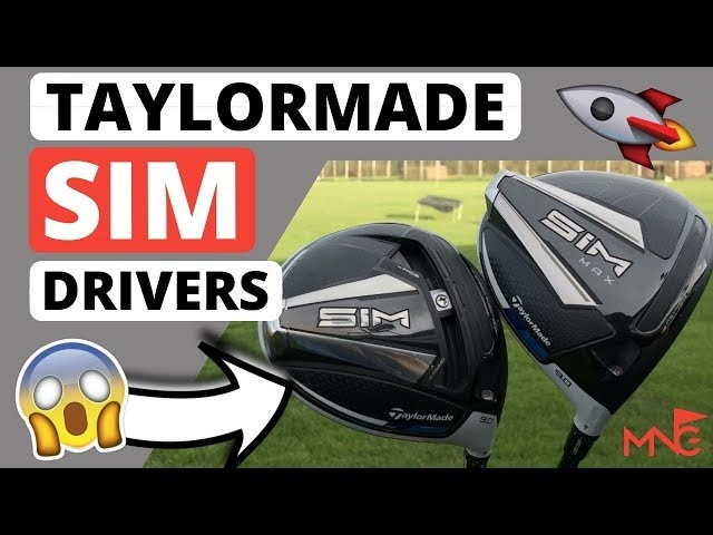 THESE SURPRISED ME! TaylorMade 2020 SIM Driver & SIM Max Driver Review