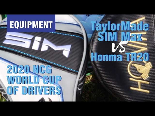 Best Driver 2020 World Cup: TaylorMade SIM vs Honma TR20