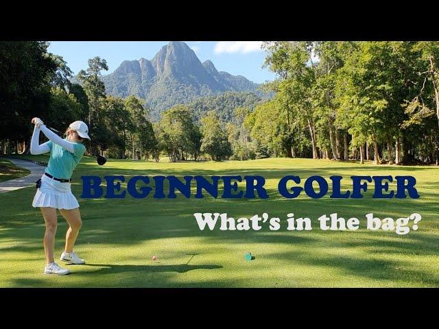 Beginner golfer- What is in my bag? COBRA FMAX