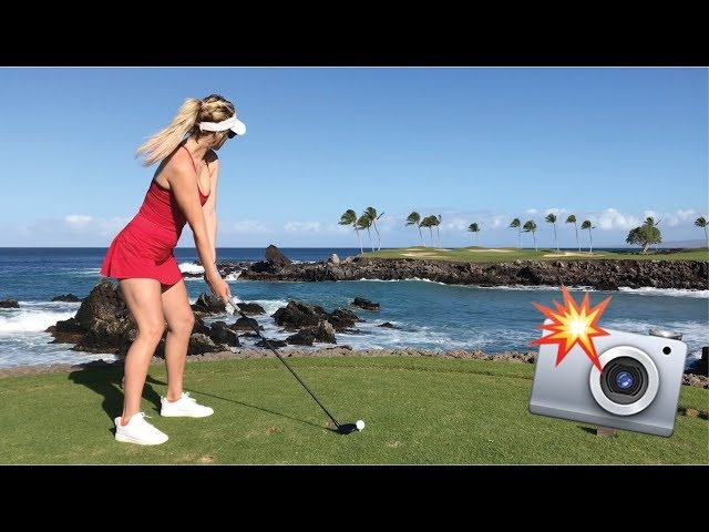 THE MOST PHOTOGRAPHED GOLF HOLE IN THE WORLD // PLAYING MAUNA LANI SOUTH COURSE IN HAWAII
