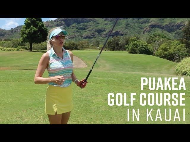 PUAKEA BACK NINE COURSE VLOG // BEAUTIFUL RESORT QUALITY PUBLIC COURSE IN HAWAII