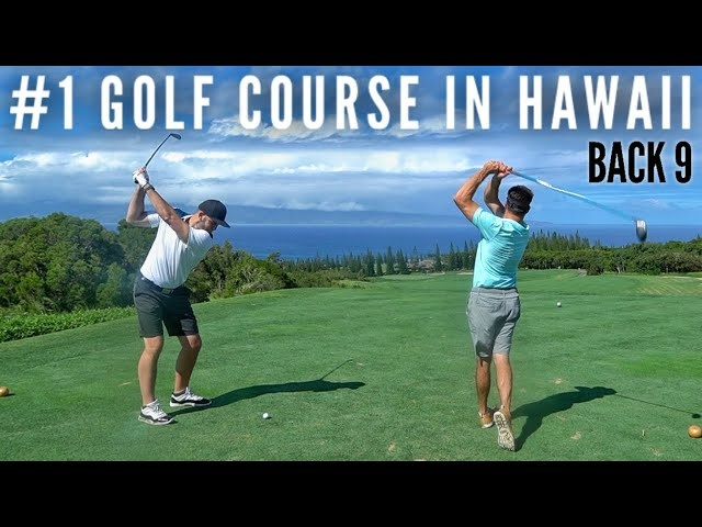 Playing the #1 Golf Course in Hawaii | Part 2 | The Plantation Course