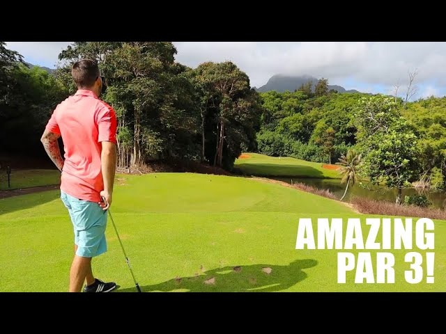 FIRST TIME GOLFING IN HAWAII! (Puakea Golf Course) - Part 1