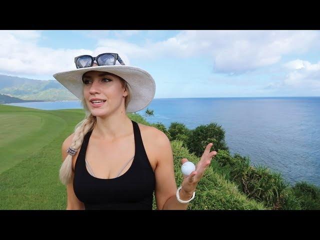 STUNNING HAWAIIAN OCEAN SIDE GOLF VLOG // PRINCEVILLE MAKAI GOLF CLUB