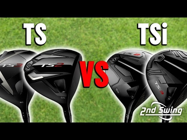Titleist TSi Driver vs TS Driver Comparison | Titleist Golf Drivers Review