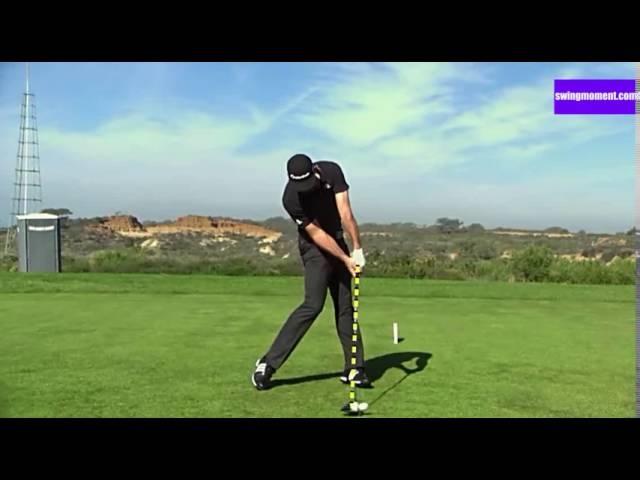 The best golf swing slow motion