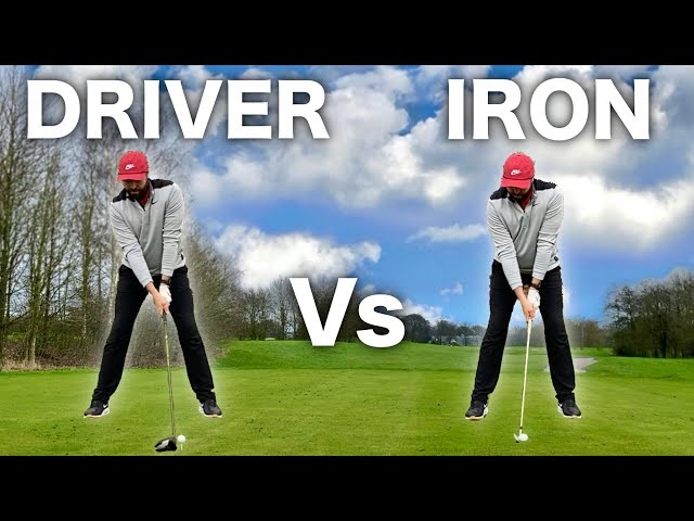 THE DIFFERENCE - DRIVER SWING Vs IRON SWING