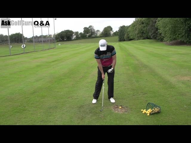 How To Stop Thinning Golf Shots