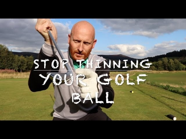 A drill to stop thinning the golf ball - PURER BALL STRIKING